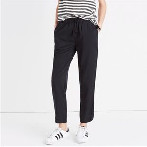 Madewell Women's Track Pants In Black